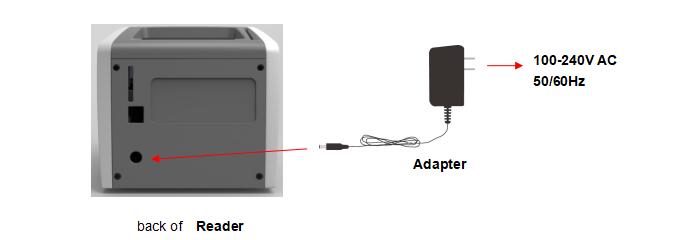 Installation of NewScen Rapid Immunoassay Reader