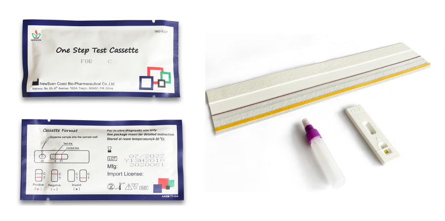 One-Step Fecal Occult Blood (FOB) Diagnostic Kit